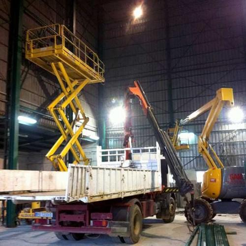 Estructura Suplementaria Interior para Instalación de Puente Grua
