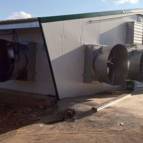 Granja Avícola, Nave para Pollos de Engorde en El Robledo
