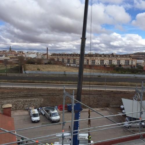 Rehabilitación cubierta edificio para Unión Fenosa. VALDEPEÑAS, CIUDAD REAL
