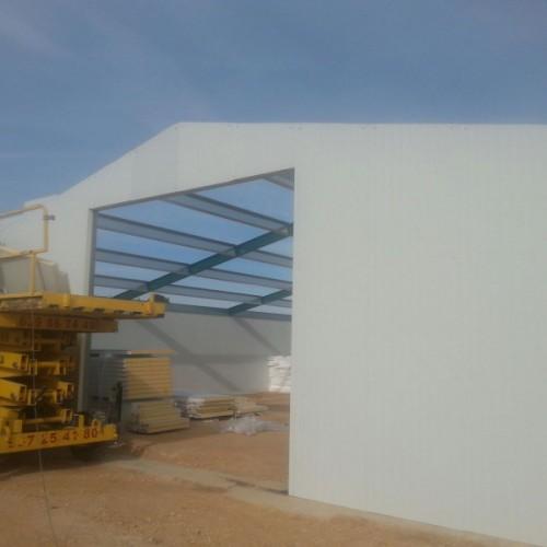 Nave de pollos en Barrax (Albacete)