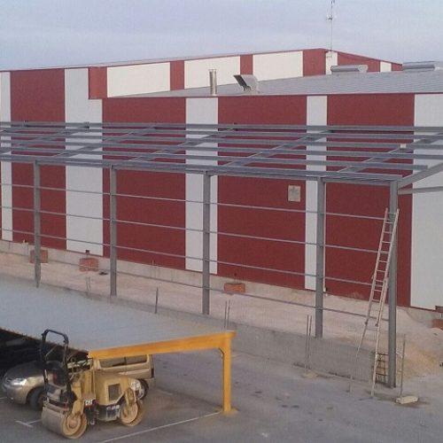Ampliación en matadero de pollos en Albacete