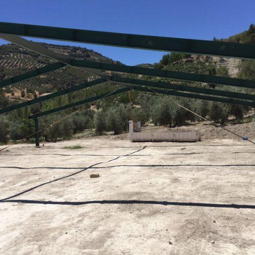Nave de engorde en Campillo Arenas (Jaén)