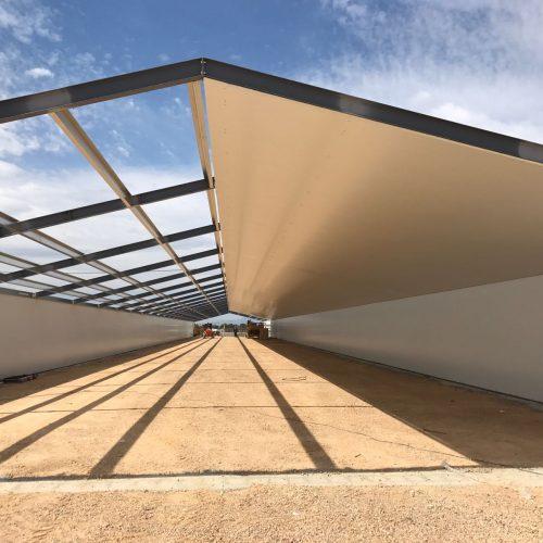 Construcción de naves reproductoras para Avilesa en Fuente Álamo (Murcia)