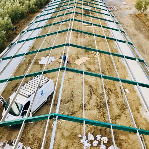 Construcción de Nave avícola en Paulenca (Granada)