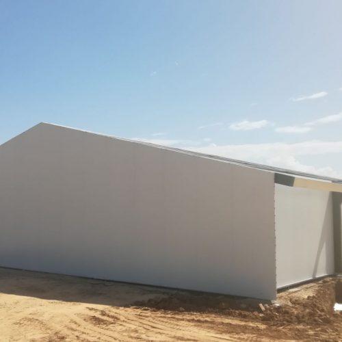 Construcción de Nave en Titaguas (Valencia)