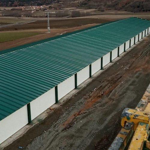 Construcción de granja avícola en Tarancueña (Soria)
