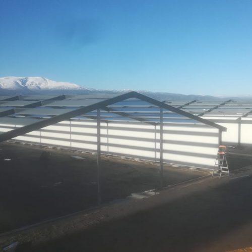 Construcción de granja en Dólar (Granada)