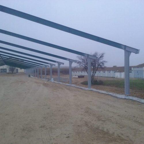 Construcción de granja para pollos en Huesca