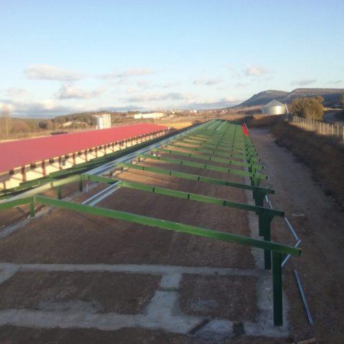 Construcción de granja para pollos en Abejar (Soria)
