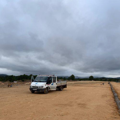 Construcción de nave para pollos en Mira (Cuenca)