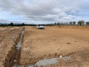 Construcción granja avícola en Mira (Cuenca)