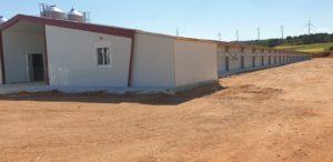 Construcción granja avícola en Campillo de Altobuey (Cuenca)