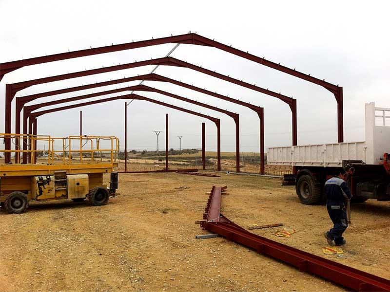 Construcción granja avícola en Valdeganga (Albacete)