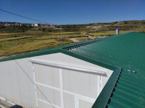 Construcción granja de pollos de engorde en Alpuente (Valencia)
