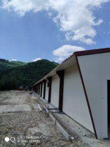 Construcción granja avícola en Orozco (Vizcaya)