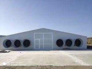 Construcción granja avícola en Zurgena (Almería)