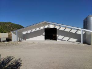 Construcción granja de pollos en Zorita del Maestrazgo (Castellón)