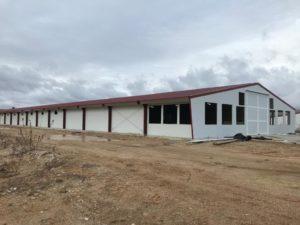Construcción granja de pollos de engorde en Burgo de Osma (Soria)