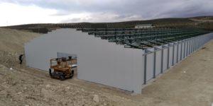 Construcción granja avícola en Quesada (Jaén)