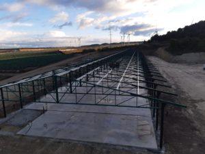 Construcción nave avícola en Valtierra (Navarra)