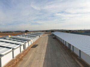 Construcción granjas avícolas en Alborea (Albacete)