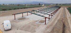Construcción granja de pollos en Lorca (Murcia)