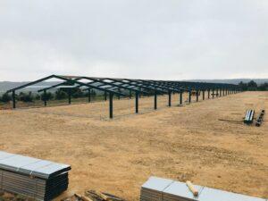 Construcción granja avícola en Torrevelilla (Teruel)