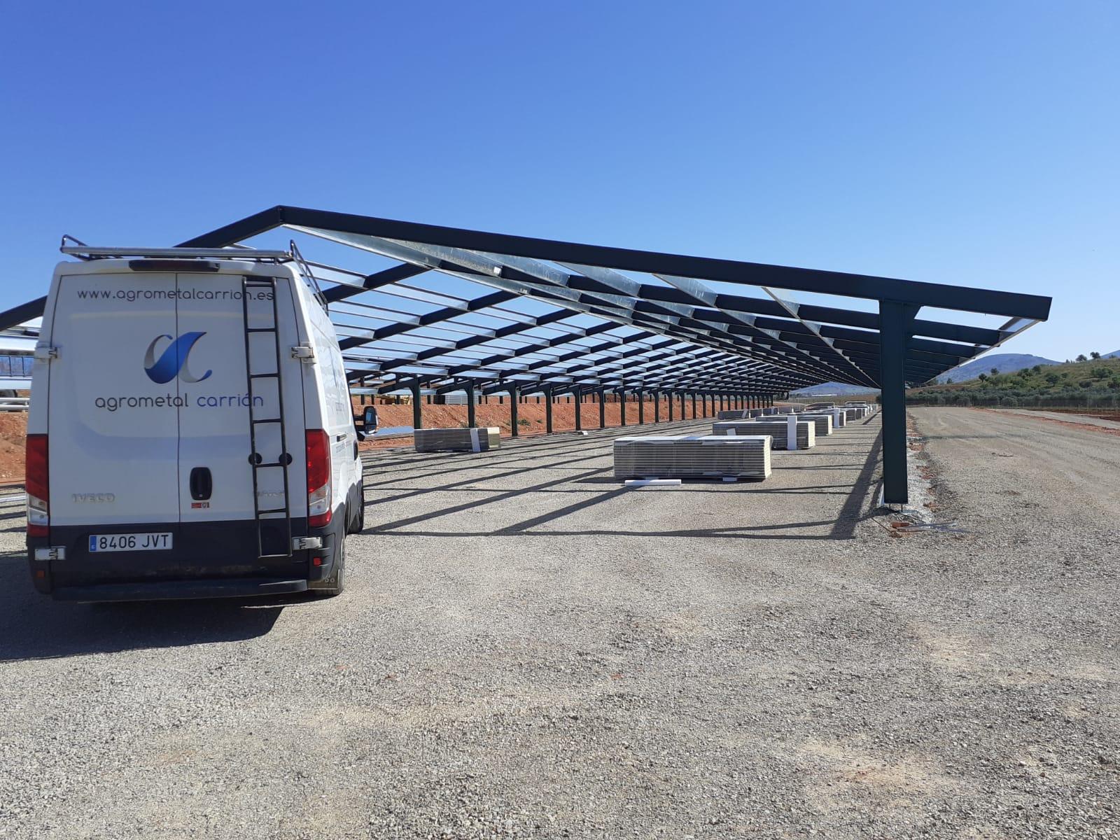 Construcción granjas de pollos en Fuente el Fresno (Ciudad Real)