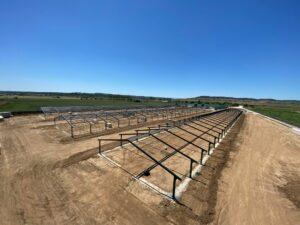 Construcción granjas avícolas en La Pueblanueva (Toledo)