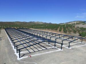Construcción granjas de pollos en Vélez Rubio (Almería)