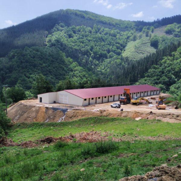 Construcción granja de pollos en Vizcaya